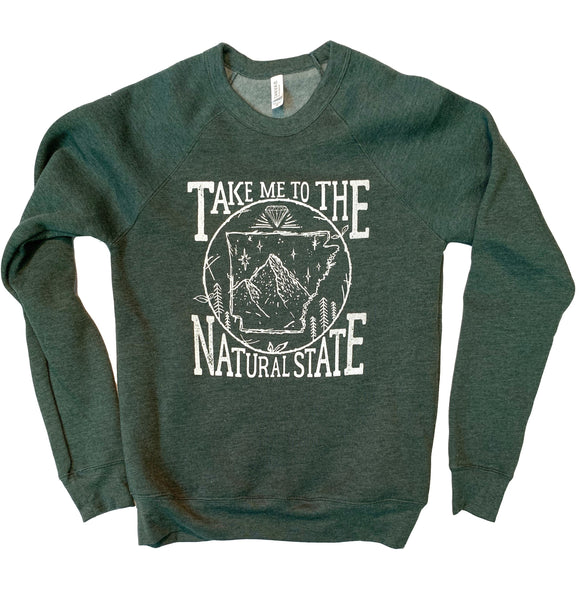 Take Me to the Natural State Sweatshirt