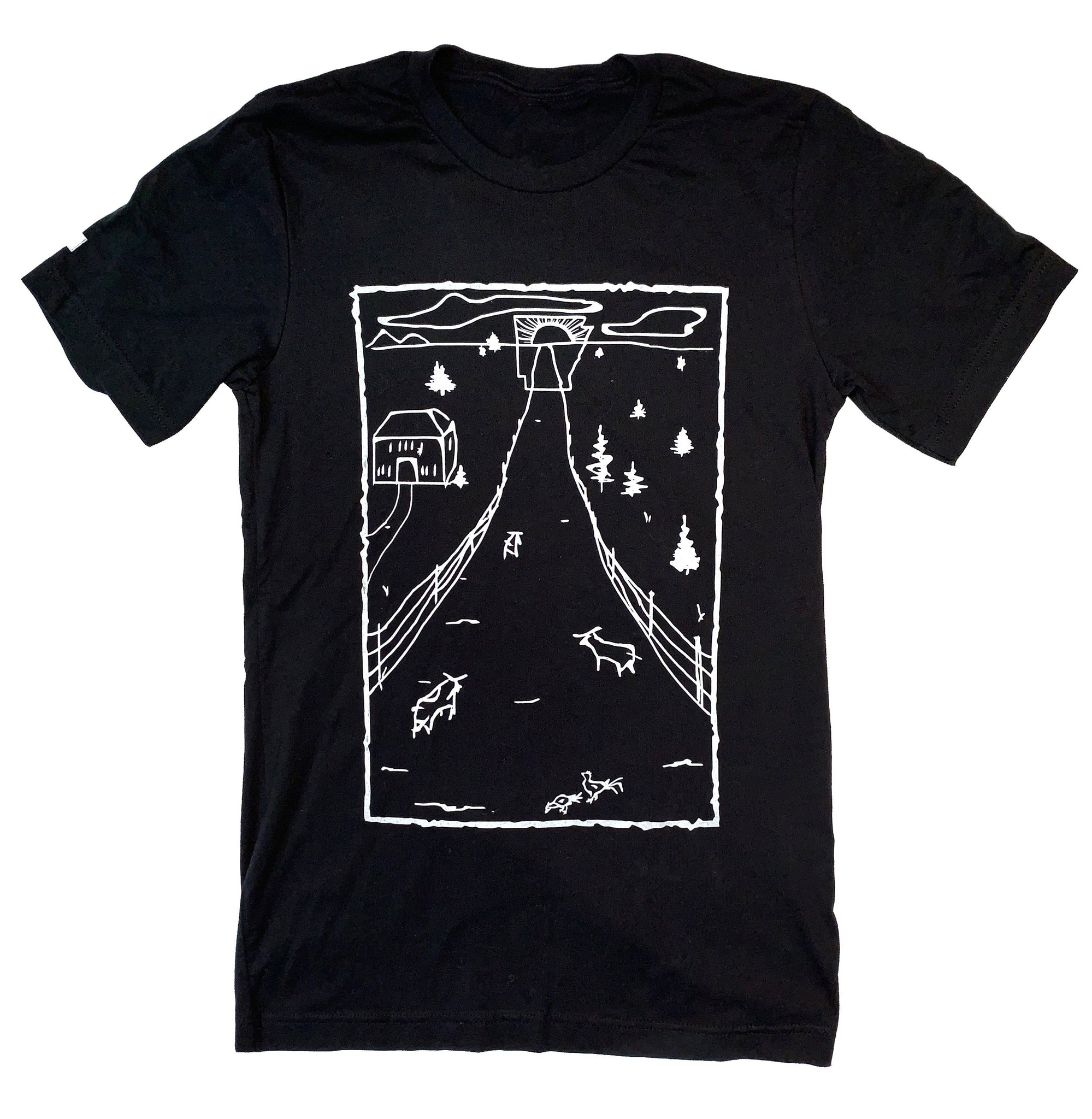 All Roads Lead to Arkansas T-Shirt