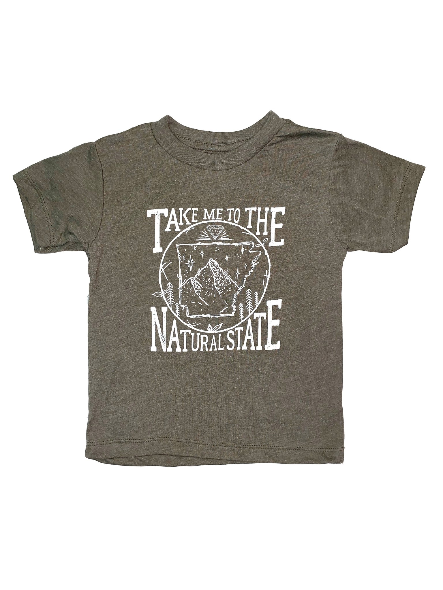 Take Me to the Natural State Toddler T-Shirt