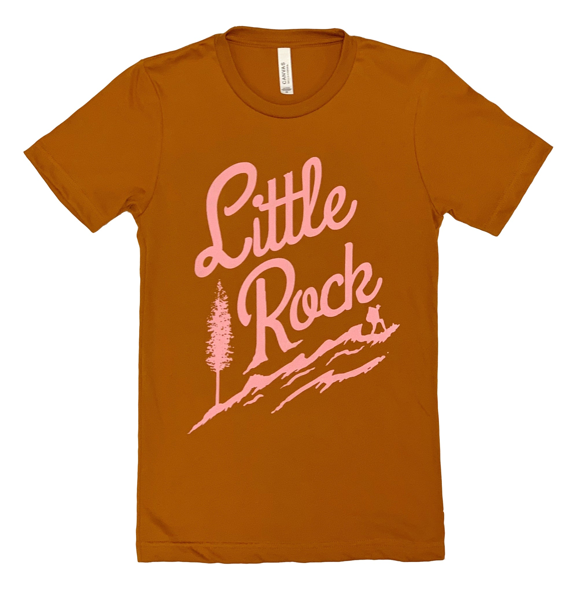 Little Rock Hiker's Tee / Autumn & Pink
