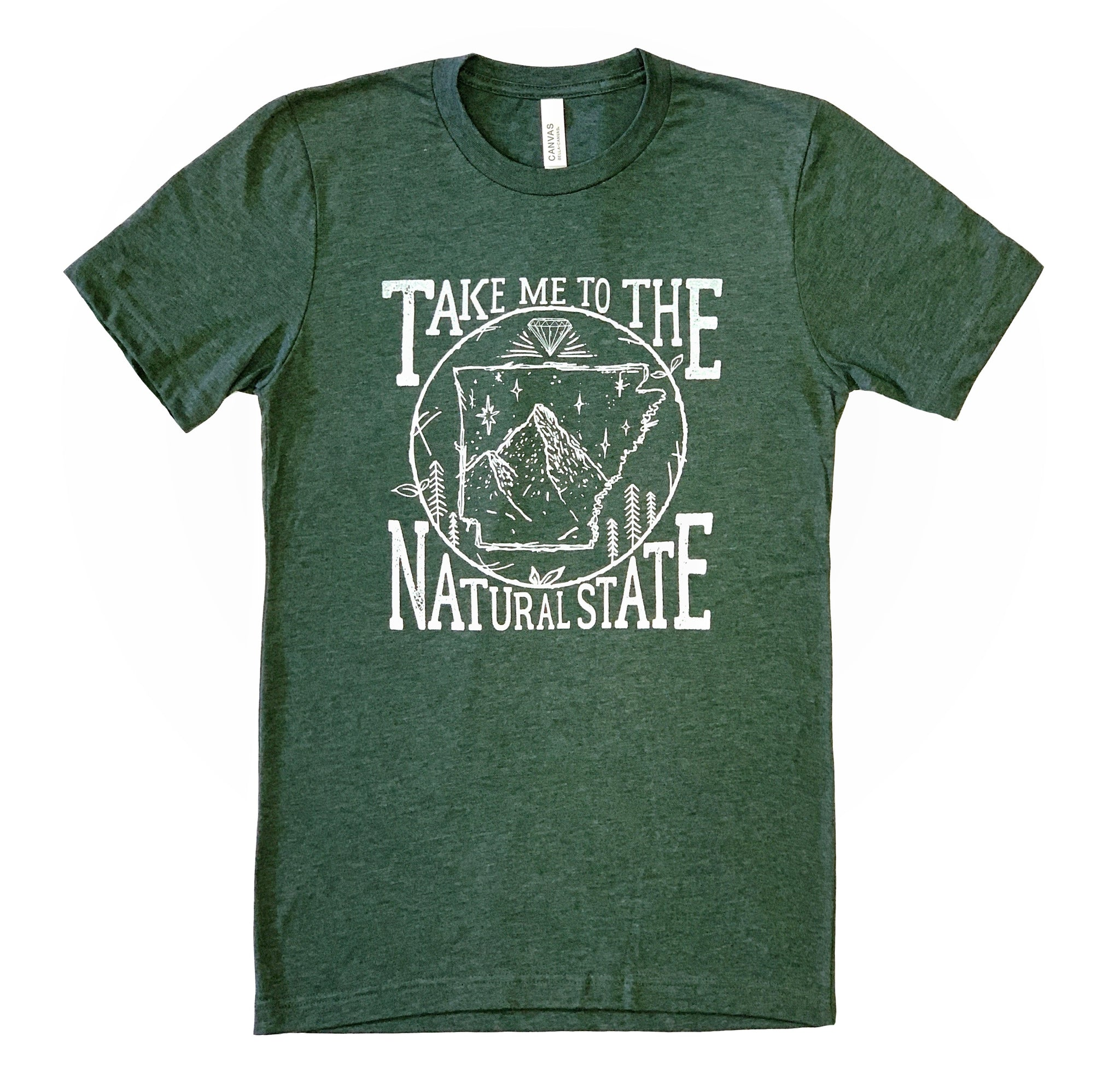 Take Me To The Natural State / Arkansas T-Shirt