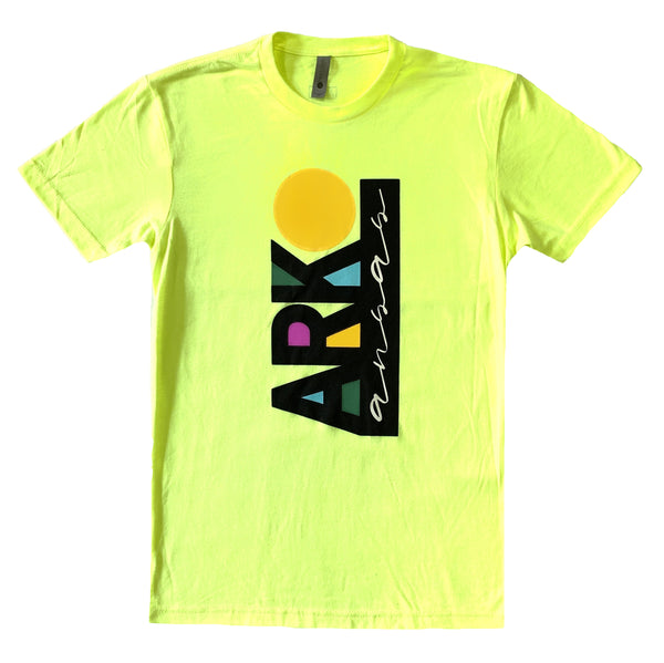 90's Neon Arkansas T-Shirt