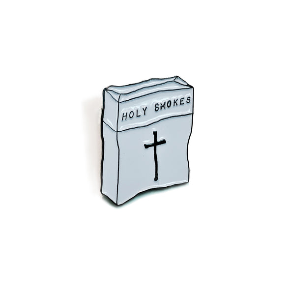 Holy Smokes Enamel Pin