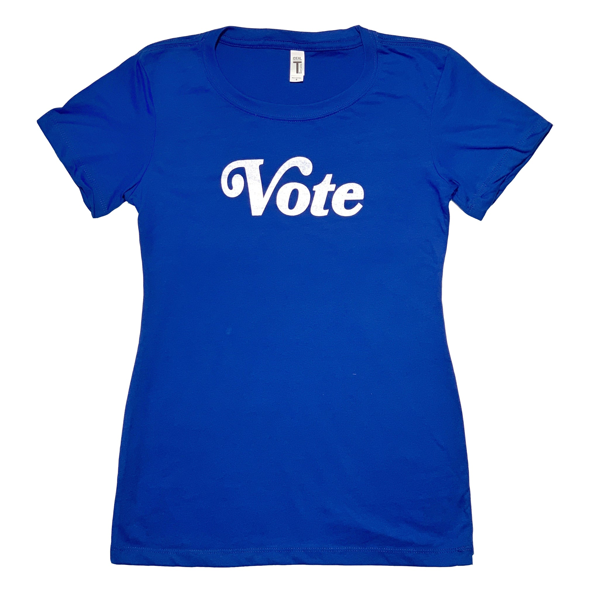 Vote Women's fitted tee