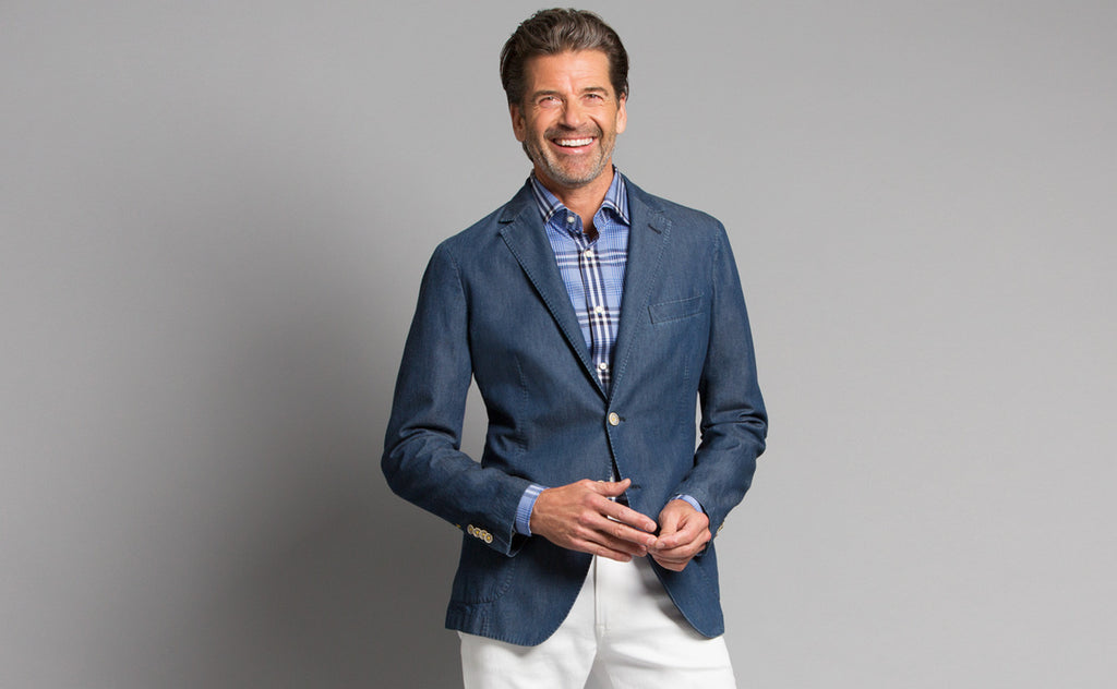 TDesign: How the Chambray Blazer Bridges Summer, Autumn
