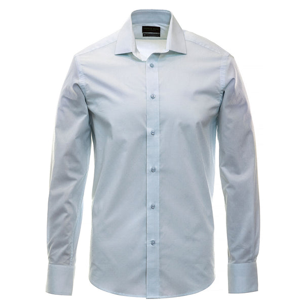Aqua Check Performance Sport Shirt - Thomas Dean & Co