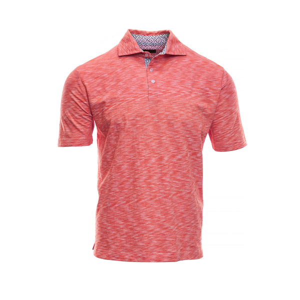 Red Cotton Polo - Thomas Dean & Co