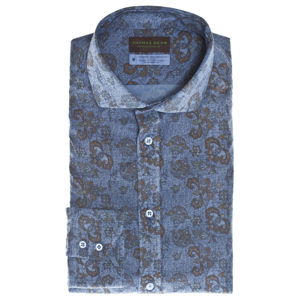 Blue Print Performance Sport Shirt