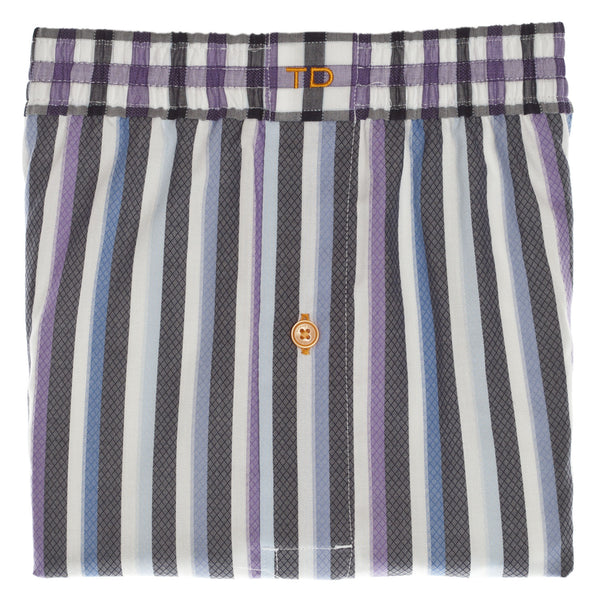 Purple Stripe Boxer Short