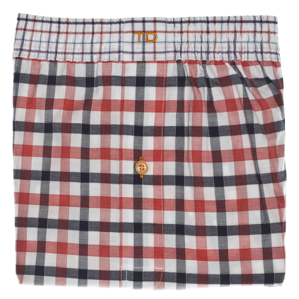 Red Check Boxer Short