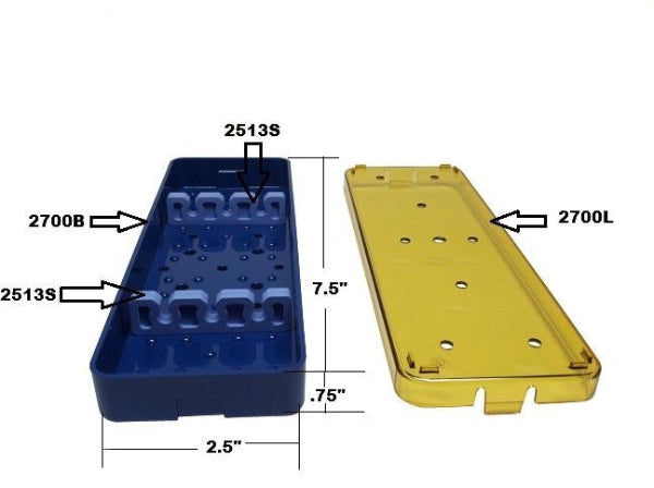 Replacement Silicone Bars For PST Trays
