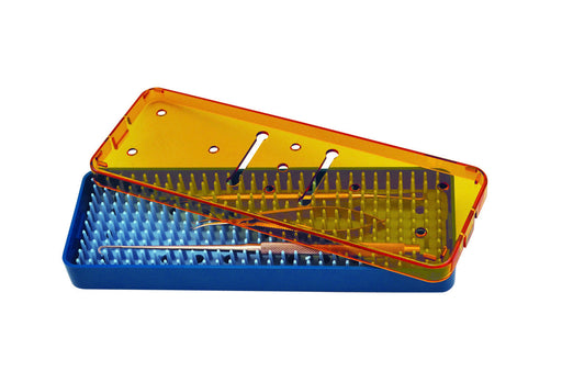 Plastic Sterilization Tray For Surgical Instruments 7.5'' x 2.2'' x 0.75''