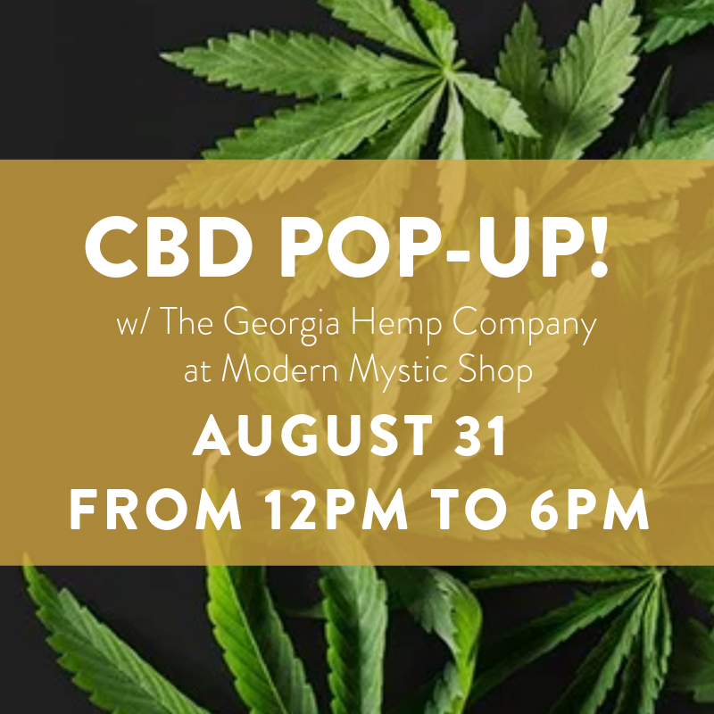 CBD Pop Up with The Georgia Hemp Co