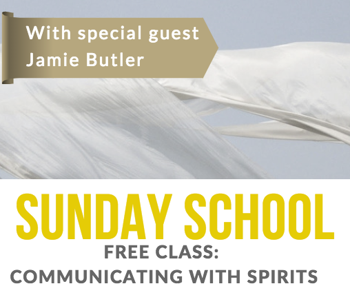 Sunday School: How to Connect with Spirit with Jamie Butler
