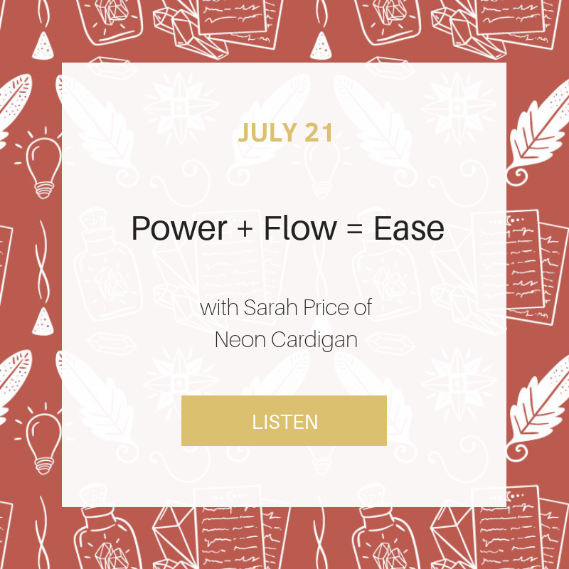 Sunday School: Power + Flow = Ease