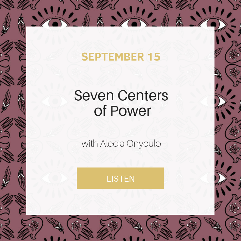 Sunday School: Seven Centers of Power