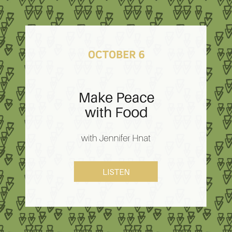 Sunday School : Make Peace with Food