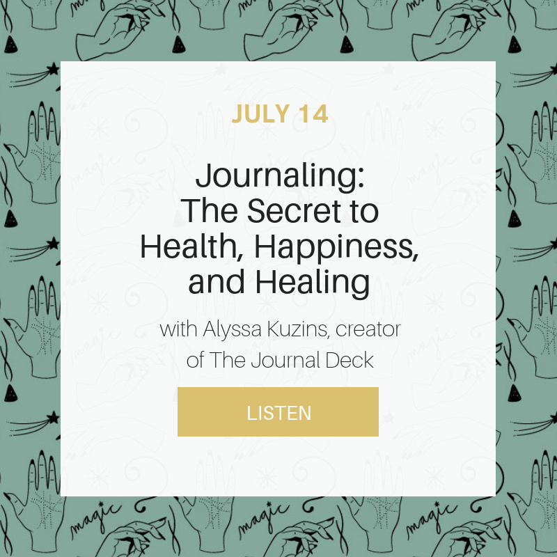Sunday School: Journaling - The Secret to Health, Happiness, and Healing
