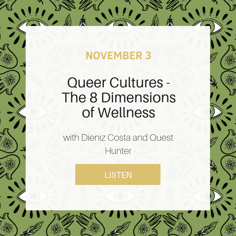 Sunday School: Queer Cultures - The 8 Dimensions of Wellness