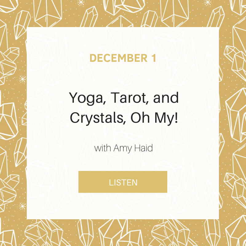 Sunday School: Yoga, Tarot, and Crystals, Oh My!