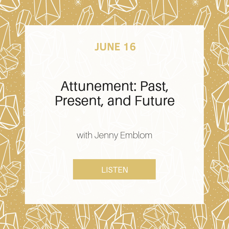 Sunday School : Attunement - Past, Present, and Future