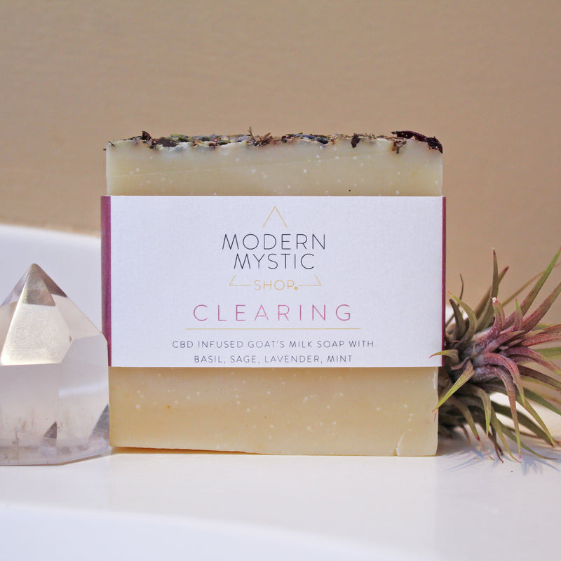 New Product Alert: Modern Mystic Shop CBD-Infused Bath Soaps