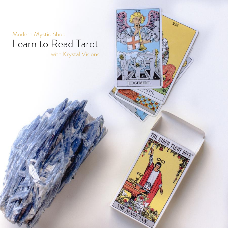 Learn to Read Tarot with Krystal Visions: Justice – Modern Mystic Shop