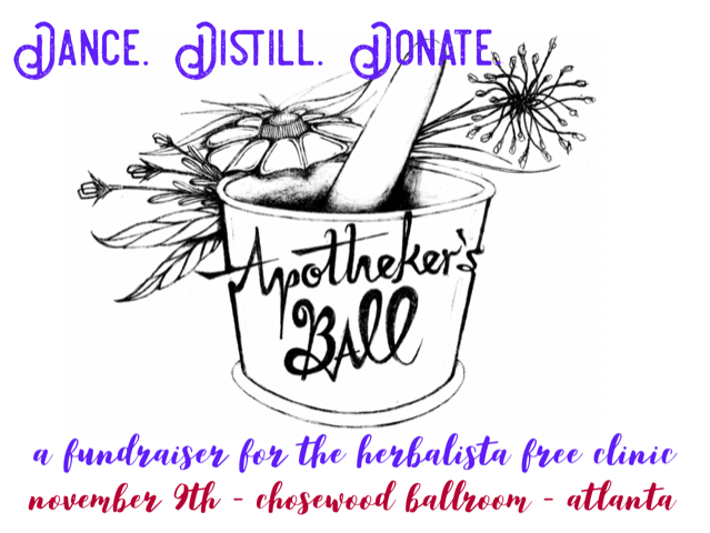 Apotheker's Ball: Herbalista's Annual Fundraiser on November 9