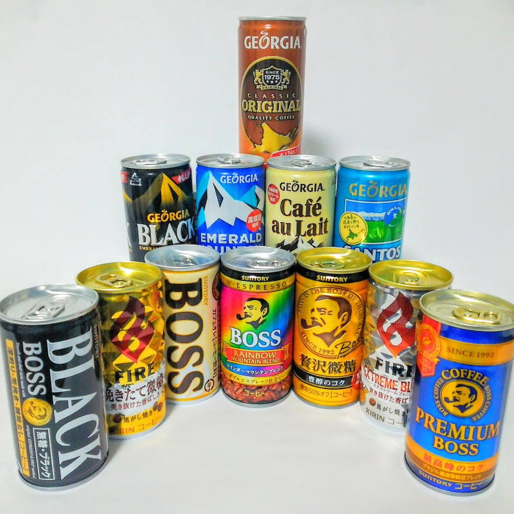 Japanese Canned Coffee - So Many Options!