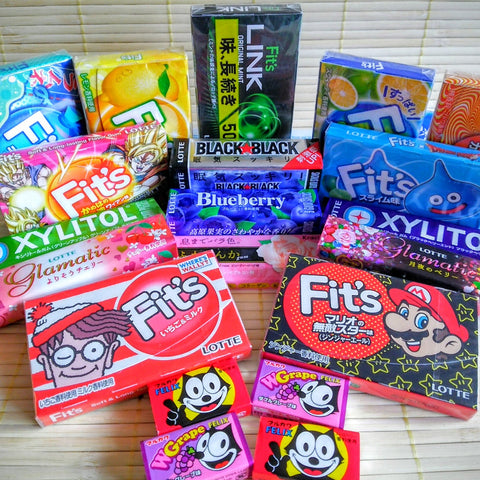 Japanese Chewing Gum Variety