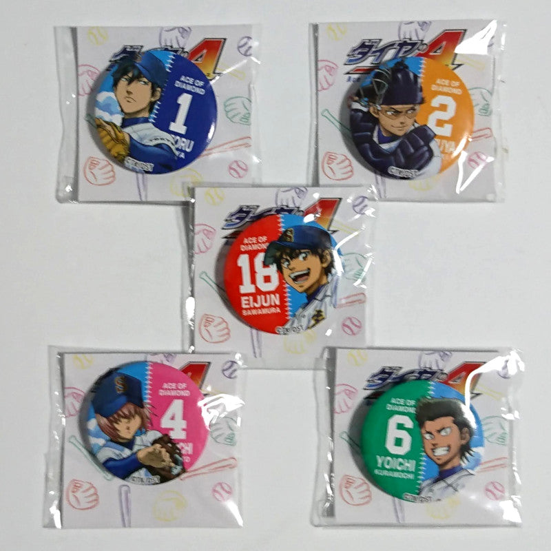 zz-- Ace of Diamond - 5 Badge Set --zz