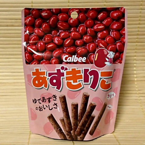 Azukiriko Snack Sticks - Sweet Red Bean