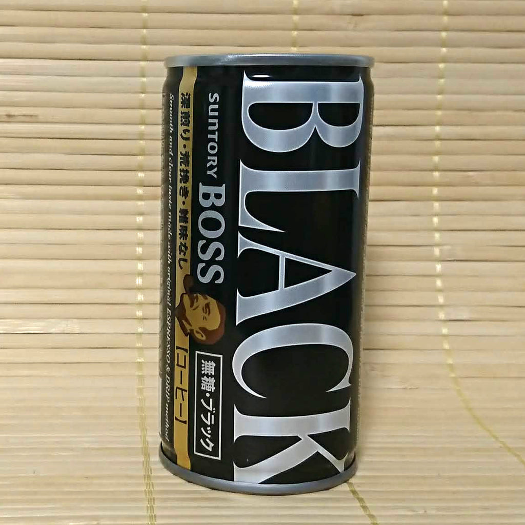 BOSS Coffee - Black