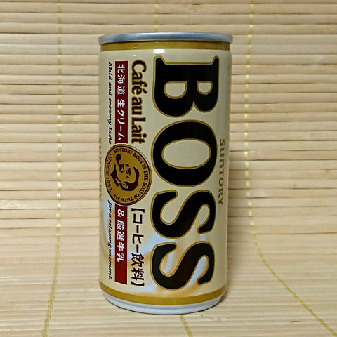 BOSS Coffee - Cafe Au Lait