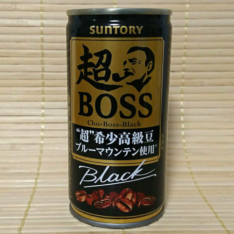 BOSS Coffee - CHO Black