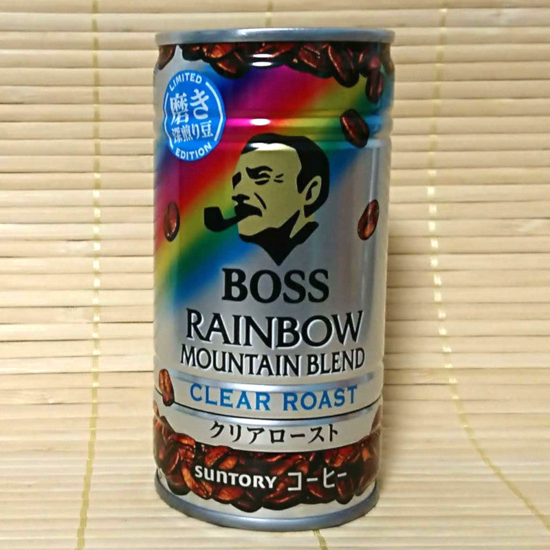 BOSS Coffee - Rainbow CLEAR ROAST Blend