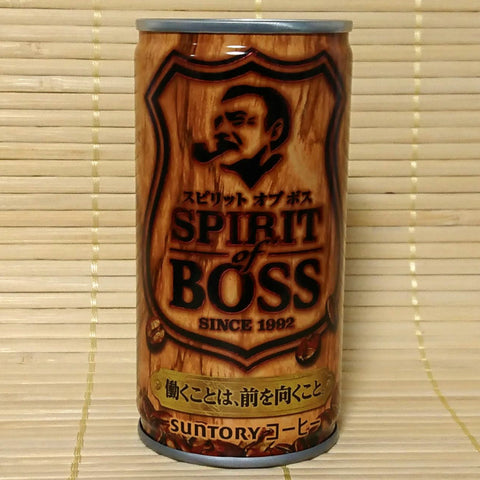 BOSS Coffee - Spirit of Boss