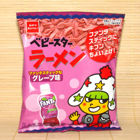 Baby Star Ramen Chips - Fanta Grape