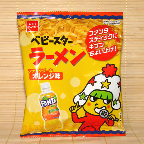 Baby Star Ramen Chips - Fanta Orange