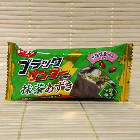 Black Thunder Matcha Azuki - Mini Chocolate Bar
