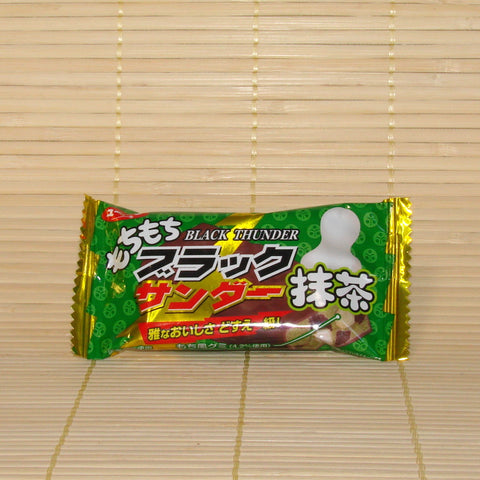 Black Thunder Mochi Green Tea - Mini Chocolate Bar