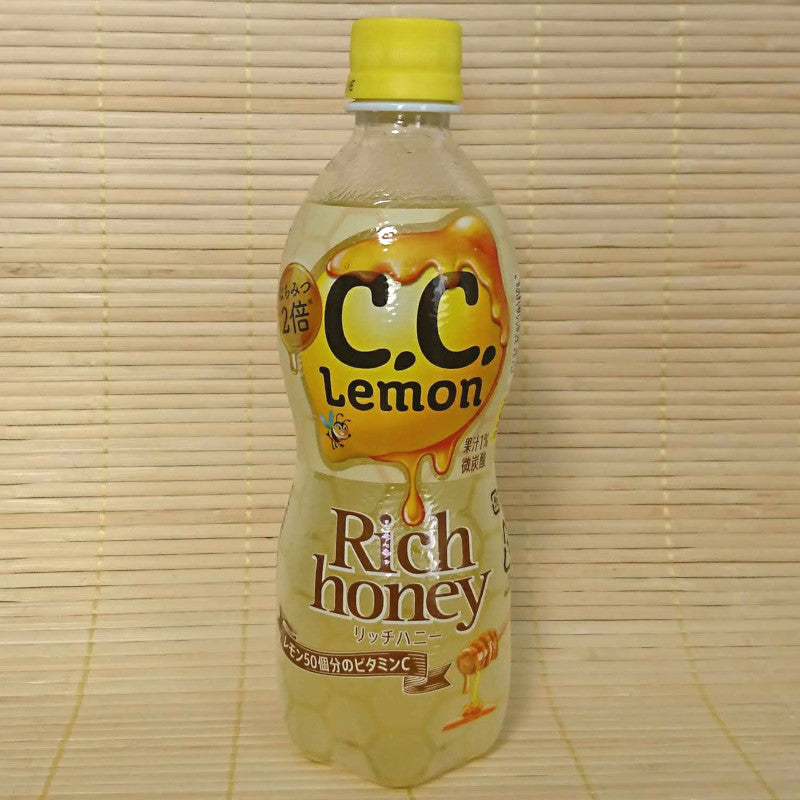 C.C. Lemon Soda - Rich Honey