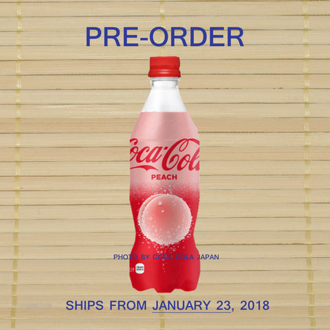 Coca Cola - Peach *PRE-ORDER* (Ships January 23)
