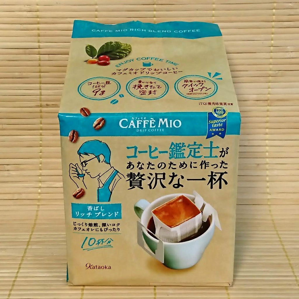 Caffe Mio Drip Coffee - Rich Blend (10 Servings)