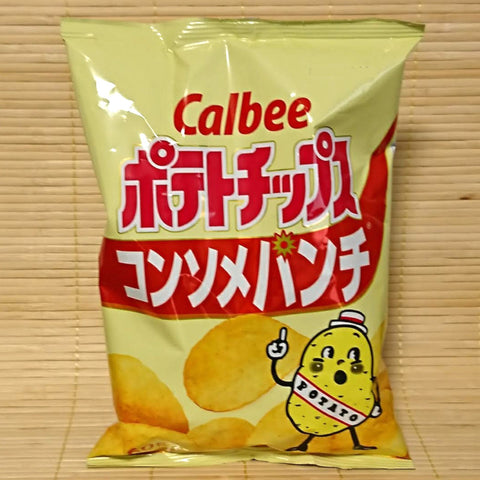 Calbee Potato Chips - Consomme Punch