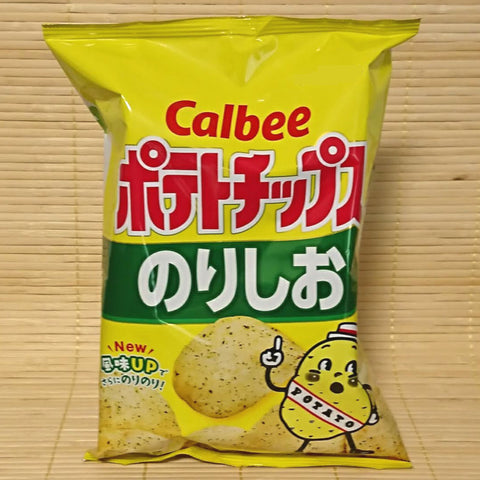 Calbee Potato Chips - Seaweed Salt (Norishio)