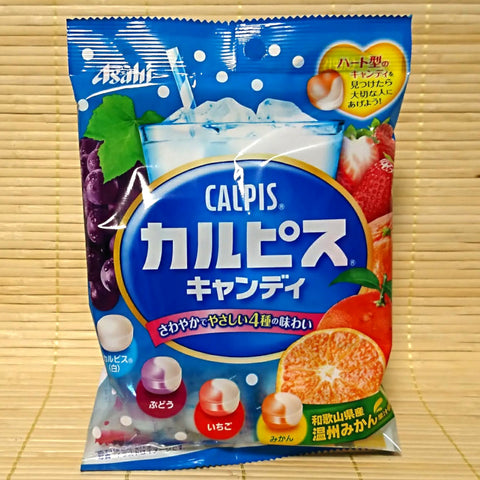 Calpis Hard Candy - 4 Flavor Fruit Mix w/ MIKAN