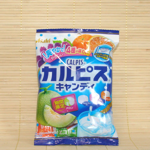 Calpis Hard Candy - 4 Flavor Fruit Mix w/ Melon