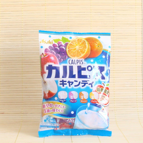 Calpis Hard Candy - 4 Flavor Fruit Mix (w/ Apple)