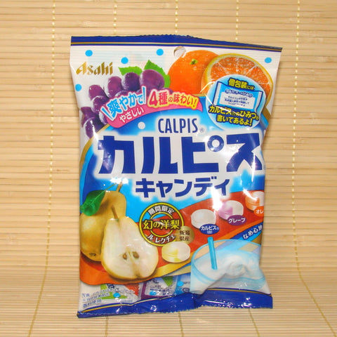 Calpis Hard Candy - 4 Flavor Fruit Mix w/ Pear